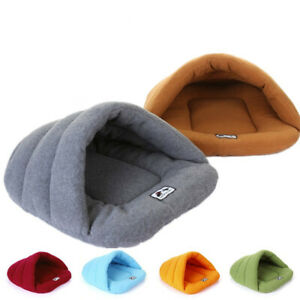Pet Dog Cave Pad Sleeping Bag Bed Mat Warm Puppy Nest House Soft Cat