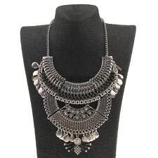 Bohemian Jewelry Gypsy Ethnic Choker Collar Vintage Maxi Statement Necklace