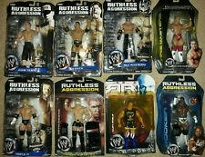 Lot Of 8 WWE Figures On Card Some Damaged