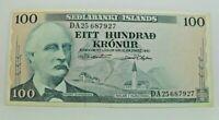Km# 44 - 100 kronur 1961 - SUP+ - Billet Islande - N7859