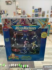Micro Machines Power Rangers Battle Bikes