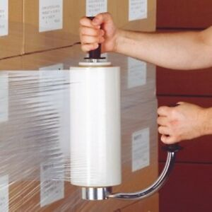 NEW HEAVY DUTY CONSTRUCTION STRETCH WRAP DISPENSER STAINLESS STEEL~FREE SHIPPING