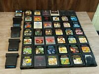 Atari Game Lot of 47 Games