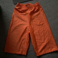 Orange Boohoo Neon Cycling Shorts