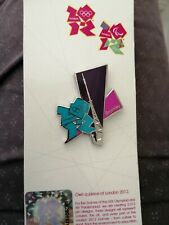 London 2012 Olympic pin badge - Bromley