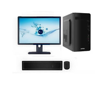 Desktop Computer PC Intel Core 2Duo/2GB Ram /160 GB HDD/15.6 Inch LED/WIFI