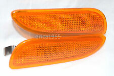 Front Side Marker Parking Light Lamp One Pair for 2003 CLK 320 430 500