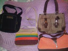 Bags: Coach,2 Fossil, An.Klein Vintage Good. New ListingLot of 4 Top Brands Hand/Shoulder