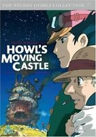 Howl's Moving Castle Studio Ghibli Collection DVD Japanese Anime Film Animated