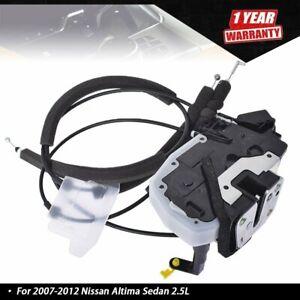 For 2007-2012 Nissan Altima Sedan 2.5L Front Left Door Lock Actuator 80501-JA000
