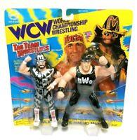 1994 WCW OSFTM Hulk Hogan & Macho Man Figures NWO WWF WWE - MOC Sealed RARE