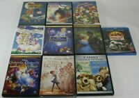 Lot of 10 Children's DVD's Kids Boys Girls Disney and others