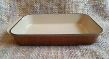 Le Creuset Graduated Brown Cast Iron Square Baking Dish 30 cm - Vintage
