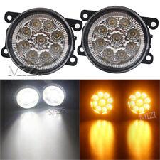 LED White /Yellow Fog Light Lamps For Mitsubishi Outlander Sport RVR 2007-18 ASX
