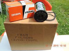 VINTAGE FRAM OIL FILTER ELEMENT - CANISTER TYPE - NIB 1987 - CHRYSLER C6 1930's