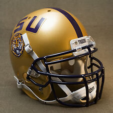 LSU TIGERS 2009 NIKE PRO COMBAT Authentic GAMEDAY Football Helmet