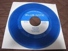 Miles Davis Tempus Bud Powell Un Poco Japan Promo only Blue Vinyl 7 inch Single