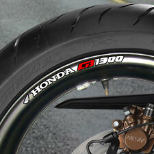 8 x CB 1300  Wheel Rim Stickers Decals  cb1300  super four bol  - B