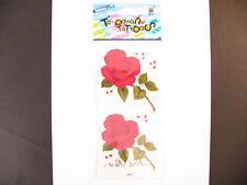 "Temporary Tatto - Rose Flower (7 x 3.5"")"