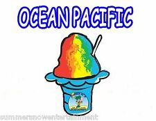 OCEAN PACIFIC SYRUP MIX Snow CONE/SHAVED ICE Flavor GALLON CONCENTRATE #1FLAVOR