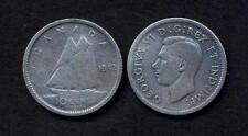 CANADA 10 Cents 1942  AG