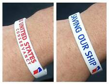 SS UNITED STATES WRISTBAND!   DONATE TO  SAVE OUR SHIP!