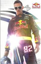 2009 SCOTT SPEED #82 RED BULL NASCAR POSTCARD SIGNED