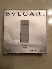 BVLGARI au the blanc White Tea Soap 2.6oz Bar NEW BOXED