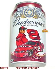 2007#8 Dale Earnhardt JR 12oz NASCAR BUD BEER CAN BUDWEISER CHEVY STOCK CAR RACE