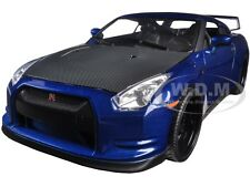 "BRIAN'S NISSAN GTR R35 BLUE ""FAST & FURIOUS 7"" MOVIE 1:18 MODEL BY JADA 97035"