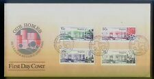 Singapore Stamps First Day Cover FDC -  1985   25 Years Achievement Our Home