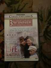 Life Is Beautiful (Dvd, 1999, Collectors Series)