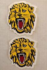 Lion Tiger Cat NOS Vintage 2 - Decals /stickers Animal School