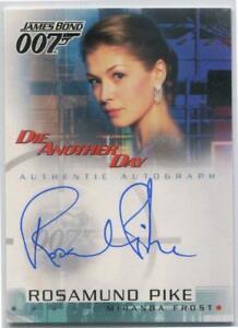 Rosamund Pike Rittenhouse James Bond #A5 Miranda Frost Autograph