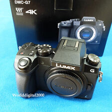 Panasonic DMC-G7 Only Body(Black) 4K Recording 4K Photo 7 Languages Selectable !