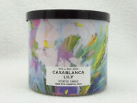 1 Bath & Body Works CASABLANCA LILY 3-Wick Scented Wax Large Candle
