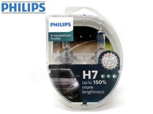 H7 Philips X-tremeVision Pro150 Halogen Headlight Bulb 12972XVPS2 Pack of 2