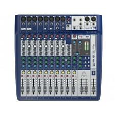 SOUNDCRAFT SIGNATURE 12 MIXER 12 CANALI