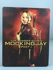 The Hunger Games Mockingjay Part 1 STEELBOOK Blu-Ray/DVD 2-Disc (Used-Very Good)