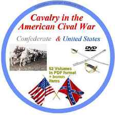 Cavalry in the American Cival War 63 PDF Volumes on DVD US & Confederate