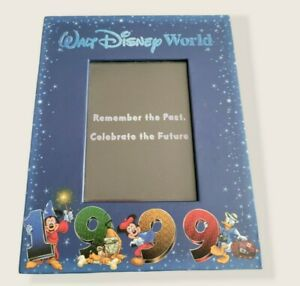 Vintage NWOT Walt Disney World Celebrate The Future 1999 Picture Frame Parks