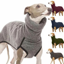 Pet Outdoor High Collar Clothes Vest Coat Sweater Hound Great Dane Pharaoh S-5XL