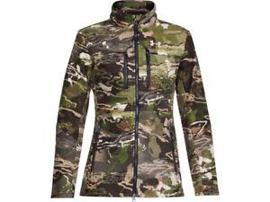 Under Armour UA 1297842  Ridge Reaper Camo Fo Women  Wool Jacket NEW Size 2XL
