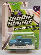 Greenlight Motor World 1956 Ford F-100 - American Edition - Series 16