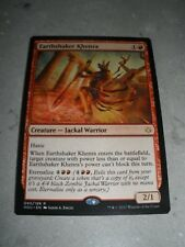 MTG Magic Miscut Misprint Earthshaker Khenra x1 Hour of Devastation NM