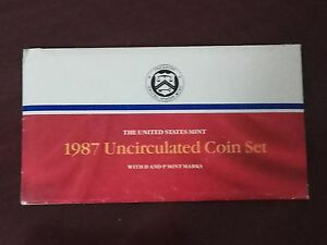 1987 USA UNCIRCULATED MINT COIN SET (239)