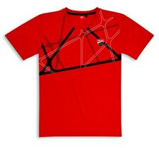 Ducati Corse Graphic Net short Sleeve T-Shirt Red New 2019