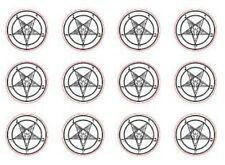 Occult Baphomet Secret Seal Sigil Rubber Stamp Satanic Lavey Crest Letter Card X