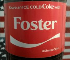 Share A Coke With Foster 2017 Limited Edition Coca Cola Bottle