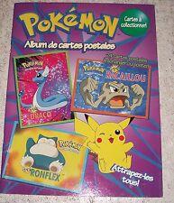 CP CARTE POSTALE POKEMON - ALBUM COMPLET DE 24 CARTES NEUVES - NEW